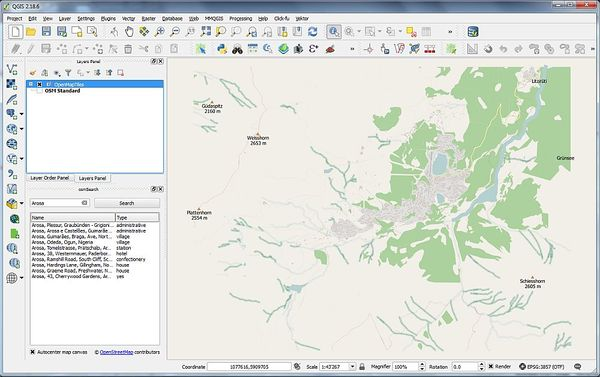 Vector Tiles Reader QGIS Plugin – GISpunkt HSR